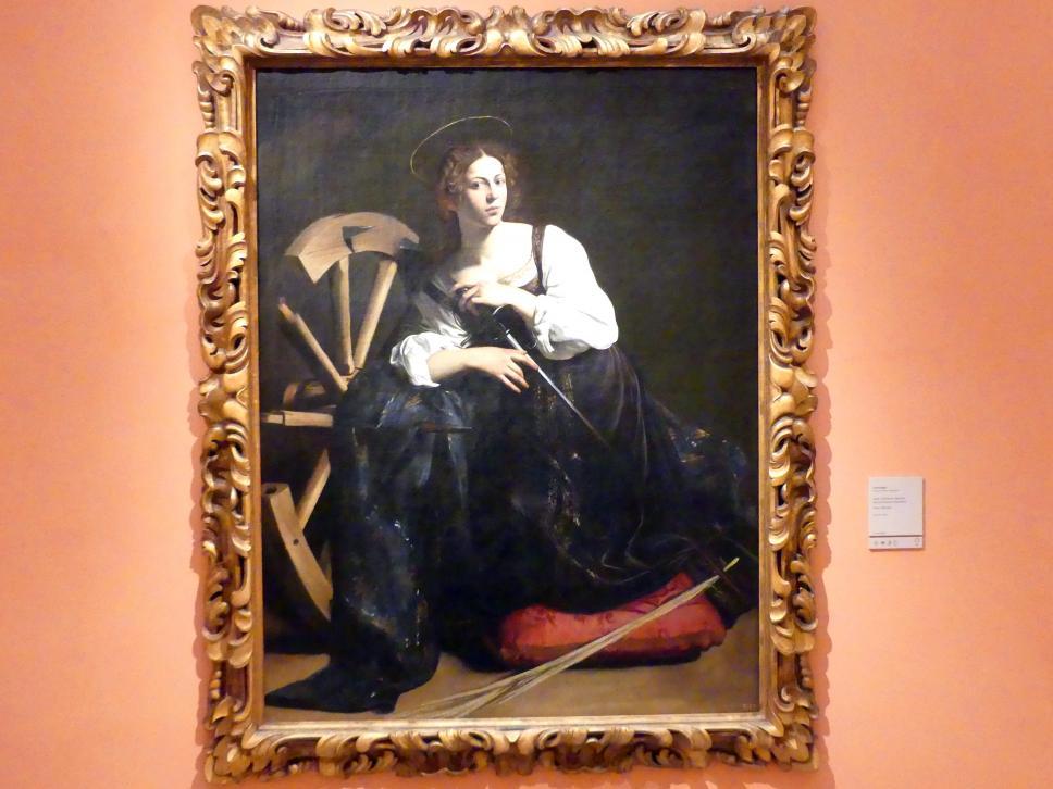 Michelangelo Merisi da Caravaggio: Die Heilige Katharina von Alexandrien, um 1598 - 1599