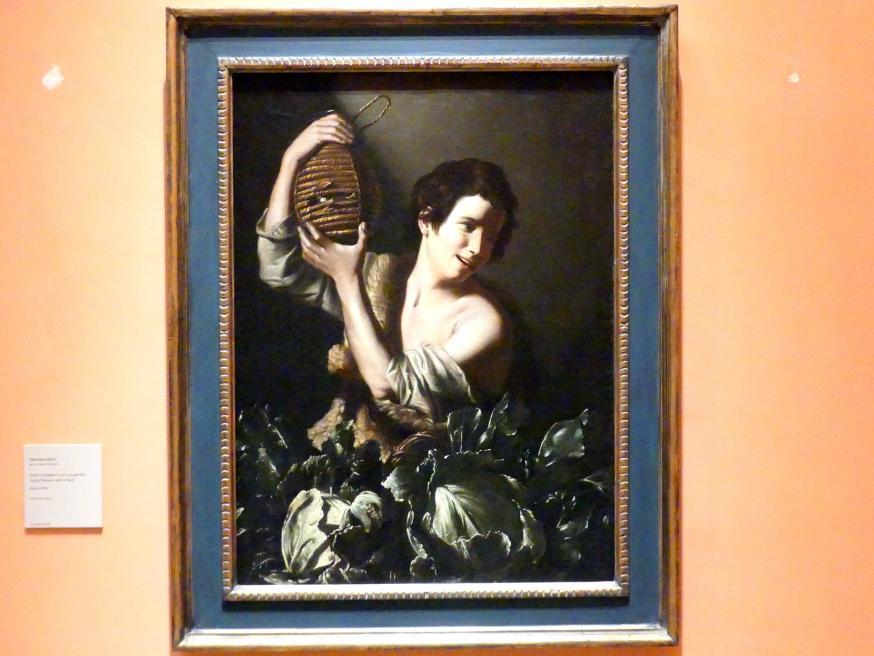 Tommaso Salini: Junger Bauer mit einer Karaffe, um 1610