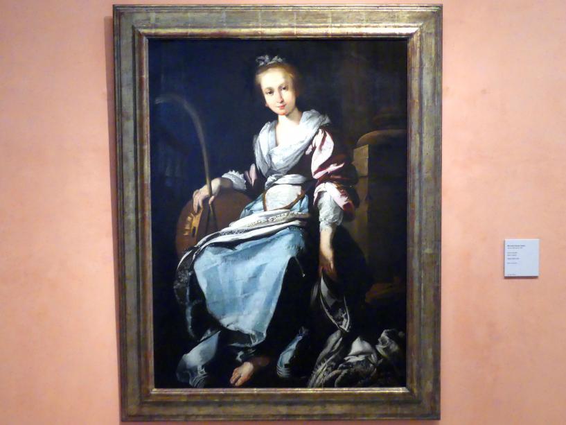 Bernardo Strozzi (Werkstatt): Die Heilige Cäcilia, um 1625 - 1630