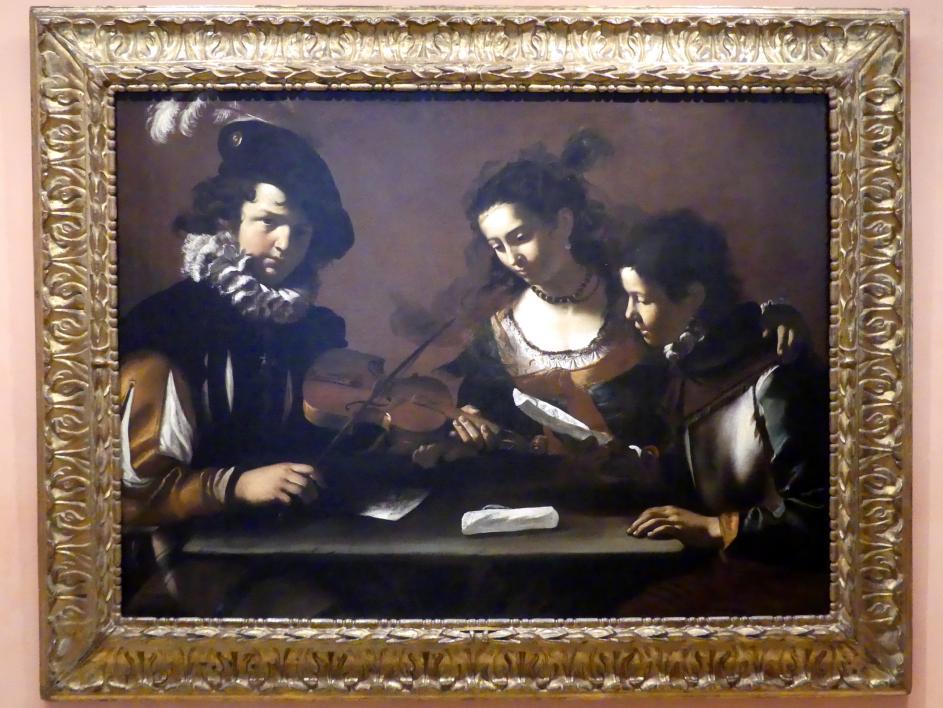 Mattia Preti: Das Konzert, um 1630 - 1635
