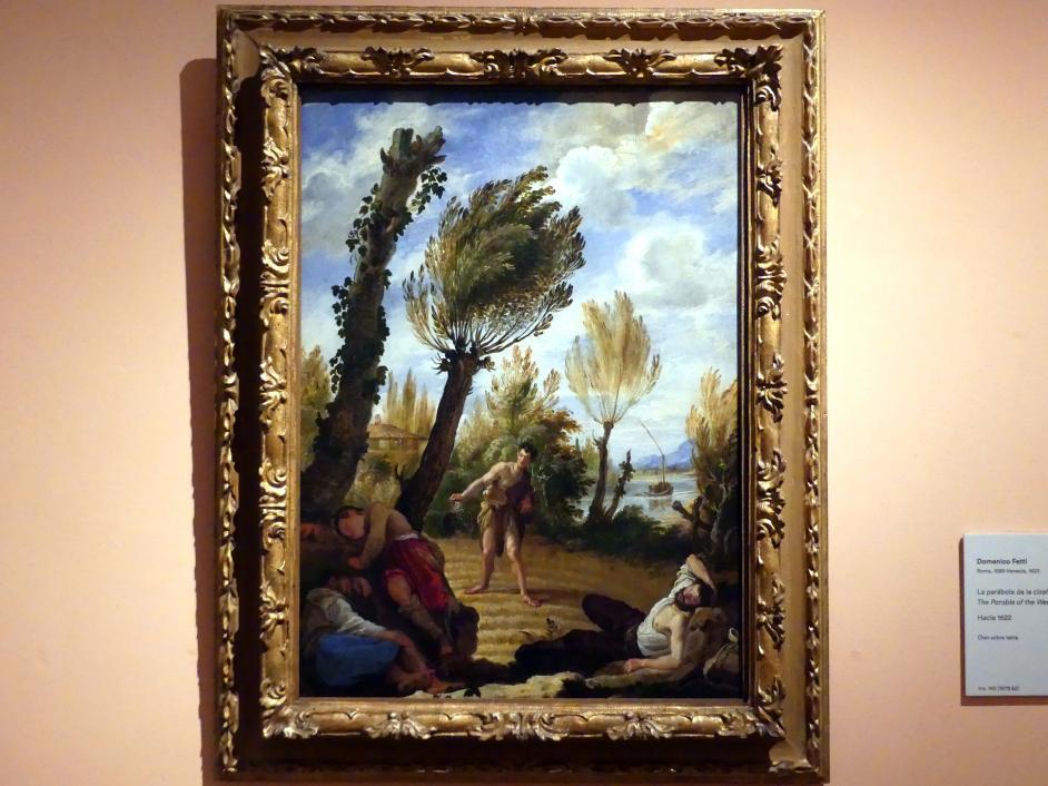 Domenico Fetti: Das Gleichnis vom Unkraut unter dem Weizen, um 1622