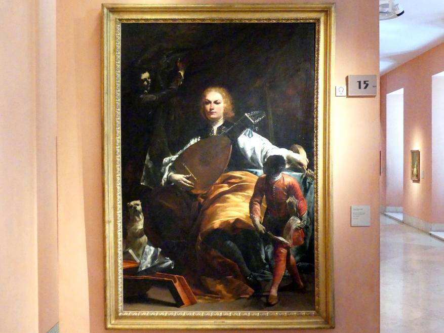 Giuseppe Maria Crespi (Spagnuolo): Porträt des Grafen Fulvio Grati, Um 1720 - 1723