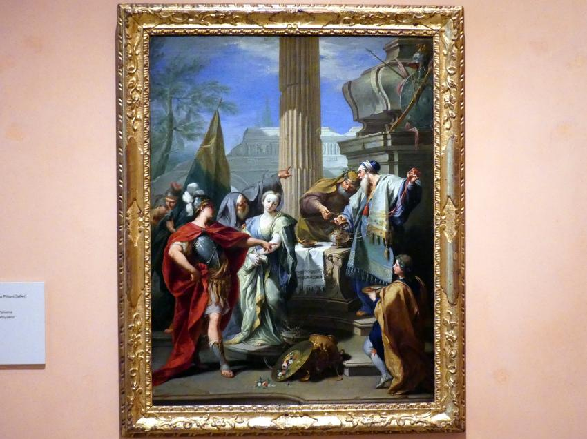 Giovanni Battista Pittoni (Werkstatt): Die Opferung der Polyxena, um 1730 - 1740