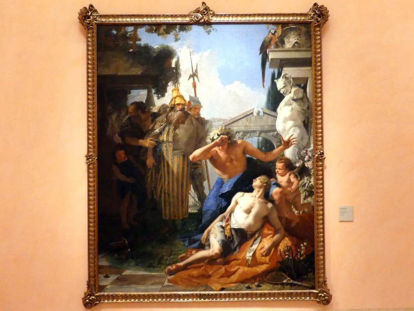 Giovanni Battista Tiepolo: Der Tod des Hyakinthos, Um 1752 - 1753