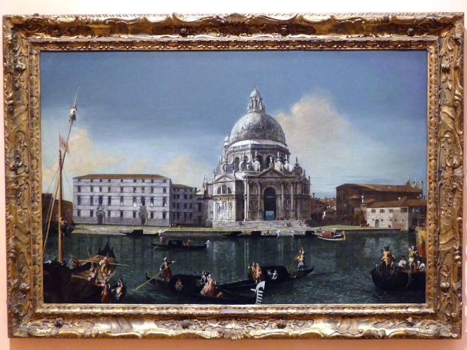 Michele Marieschi: Der Canal Grande mit Santa Maria della Salute, um 1738 - 1740