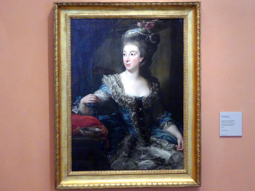 Pompeo Girolamo Batoni: Porträt von Gräfin Maria Benedetta di San Martino, 1785