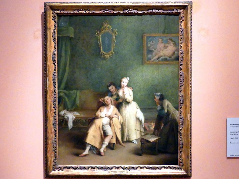 Pietro Longhi: Das Kitzeln, um 1755