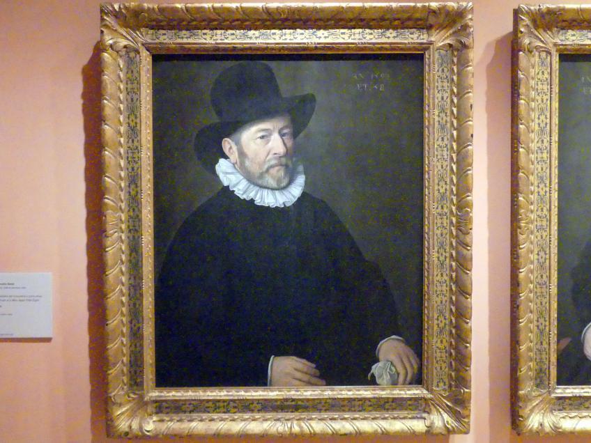 Cornelis Ketel: Porträt eines 58-jährigen Mannes, 1594