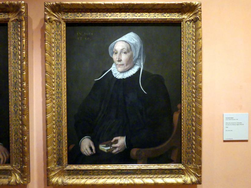 Cornelis Ketel: Porträt einer 56-jährigen Frau, 1594