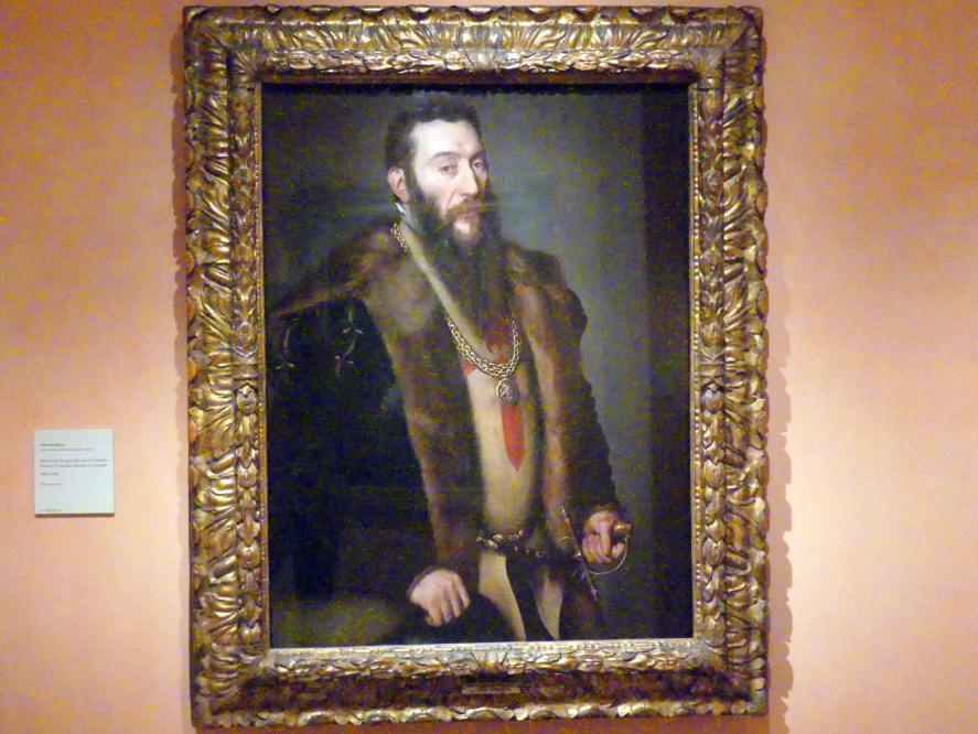 Anthonis Mor: Porträt des Giovanni Battista di Castaldo, um 1550