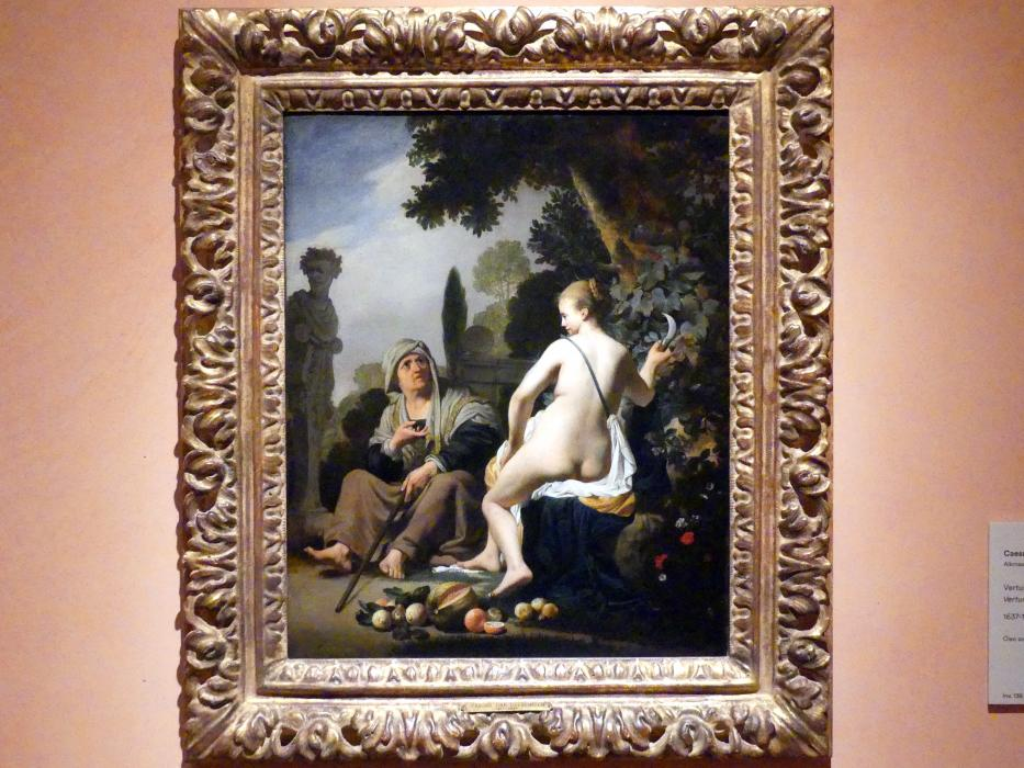 Caesar van Everdingen: Vertumnus und Pomona, 1637 - 1640