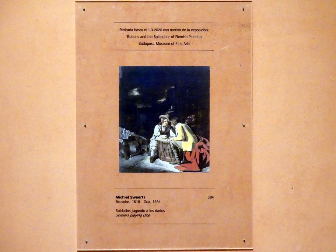 Michiel Sweerts: Soldaten beim Würfelspiel, um 1656 - 1658