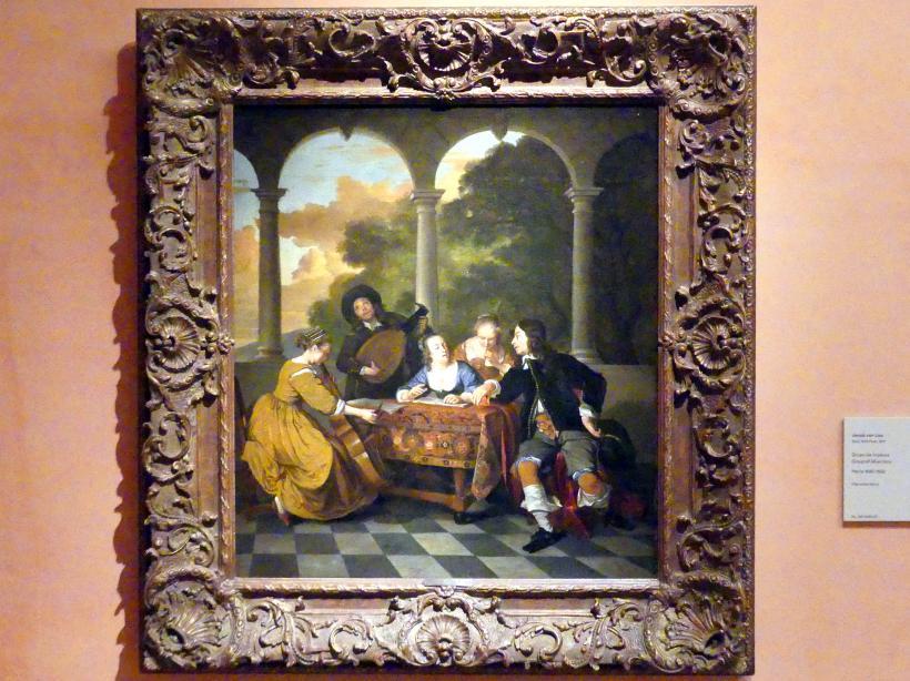 Jacob van Loo: Musikergruppe, um 1650 - 1652