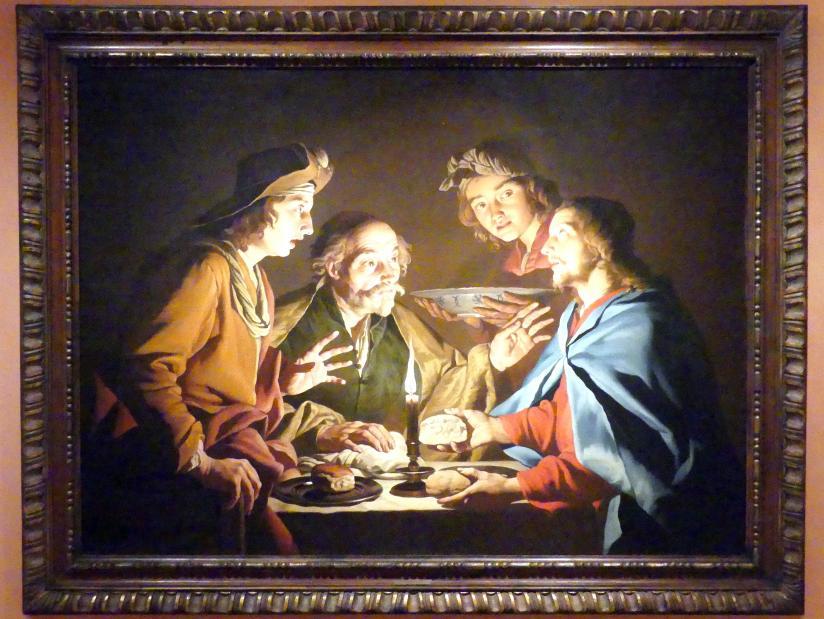 Matthias Stom: Abendmahl in Emmaus, um 1640 - 1643