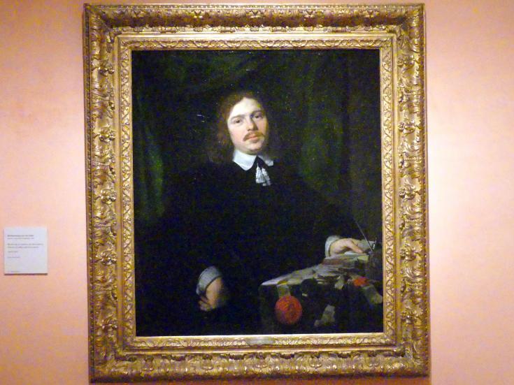 Bartholomeus van der Helst: Porträt eines Mannes mit Dokumenten, um 1655