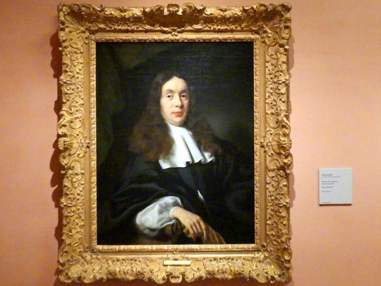 Nicolaes Maes: Porträt eines Mannes, um 1666 - 1667