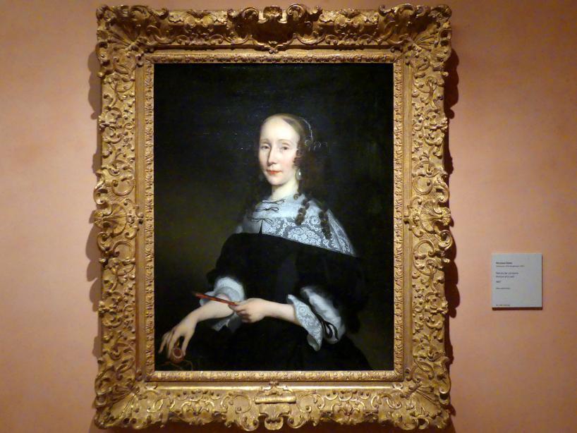 Nicolaes Maes: Porträt einer Dame, 1667