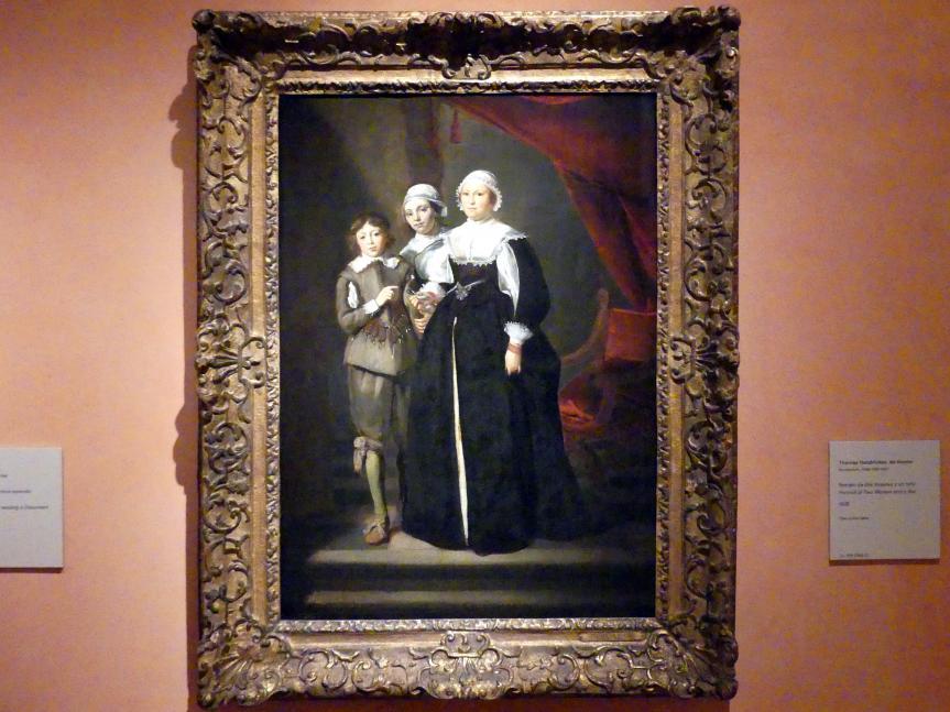 Thomas de Keyser: Porträt zweier Frauen und eines Jungen, 1632