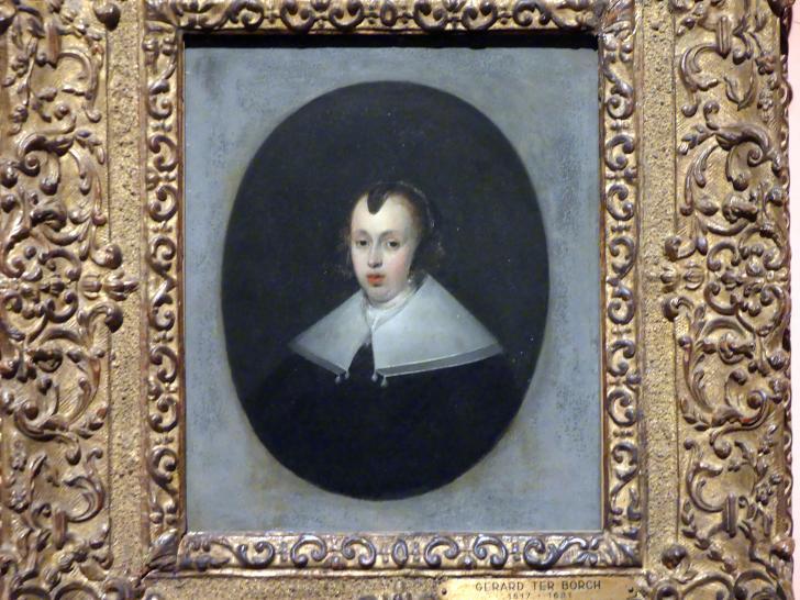Gerard ter Borch: Porträt einer 30-jährigen Frau, 1652, Bild 1/3