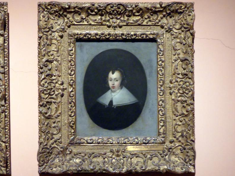 Gerard ter Borch: Porträt einer 30-jährigen Frau, 1652, Bild 2/3