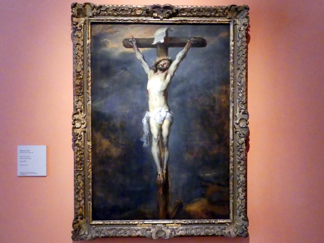 Anthonis (Anton) van Dyck: Gekreuzigter Christus, Um 1627