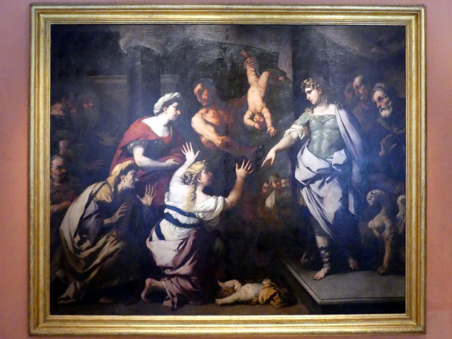 Luca Giordano: Das Salomonische Urteil, um 1665
