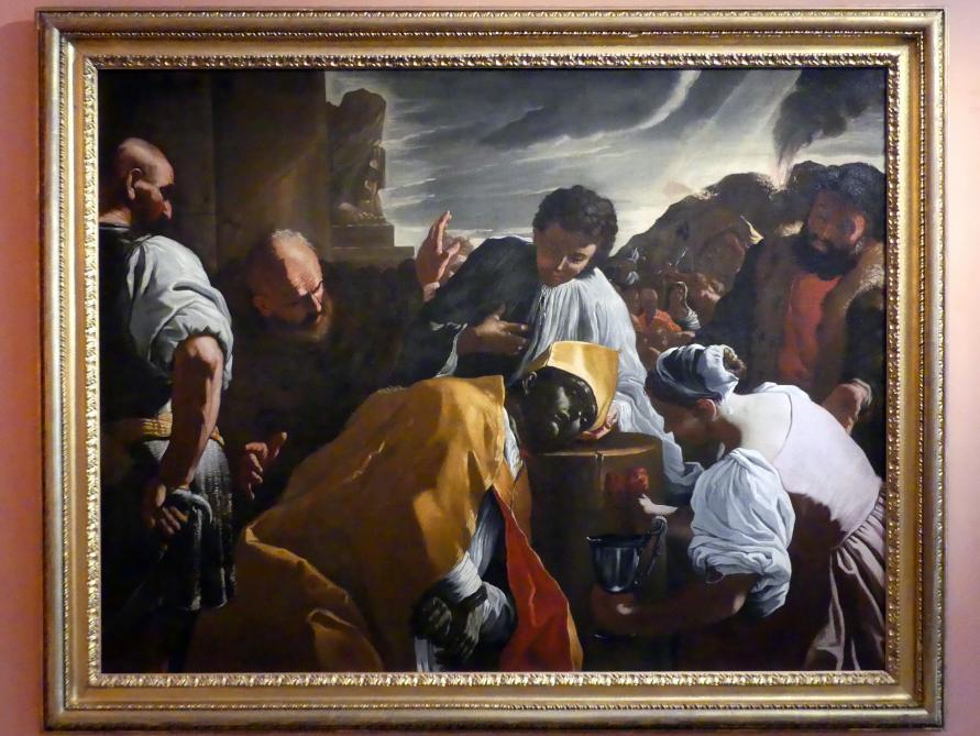 Mattia Preti (Werkstatt): Die Enthauptung des hl. Januarius, um 1685