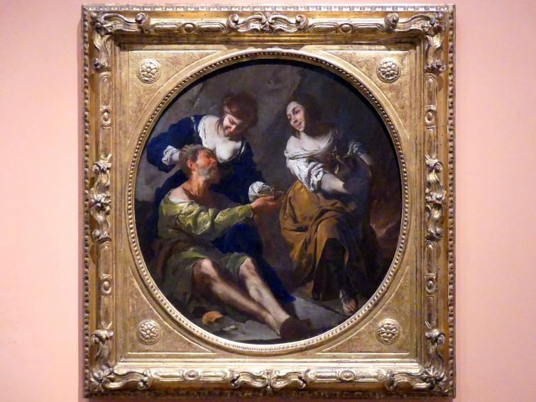 Bernardo Cavallino: Lot und seine Töchter, um 1640 - 1645