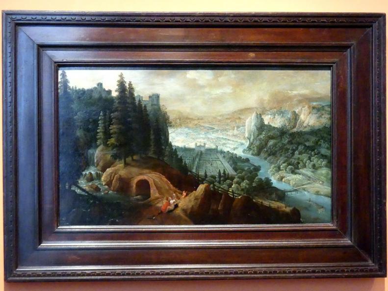 Tobias Verhaecht: Berglandschaft mit Venus und Adonis, um 1600