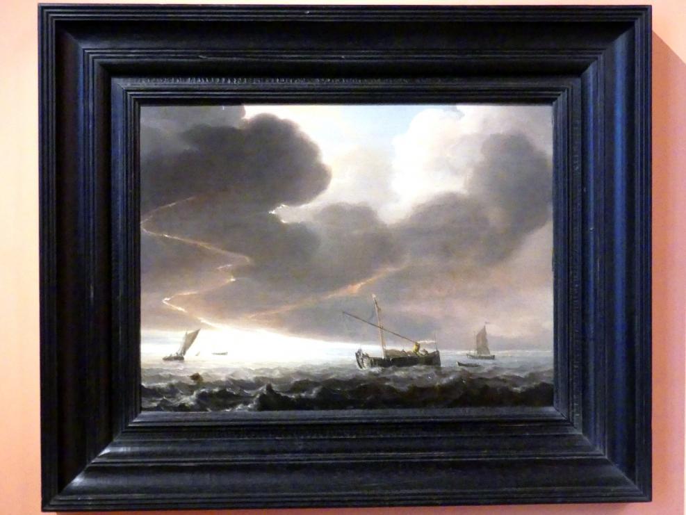 Simon de Vlieger: Sturm vor der Küste, um 1645 - 1650