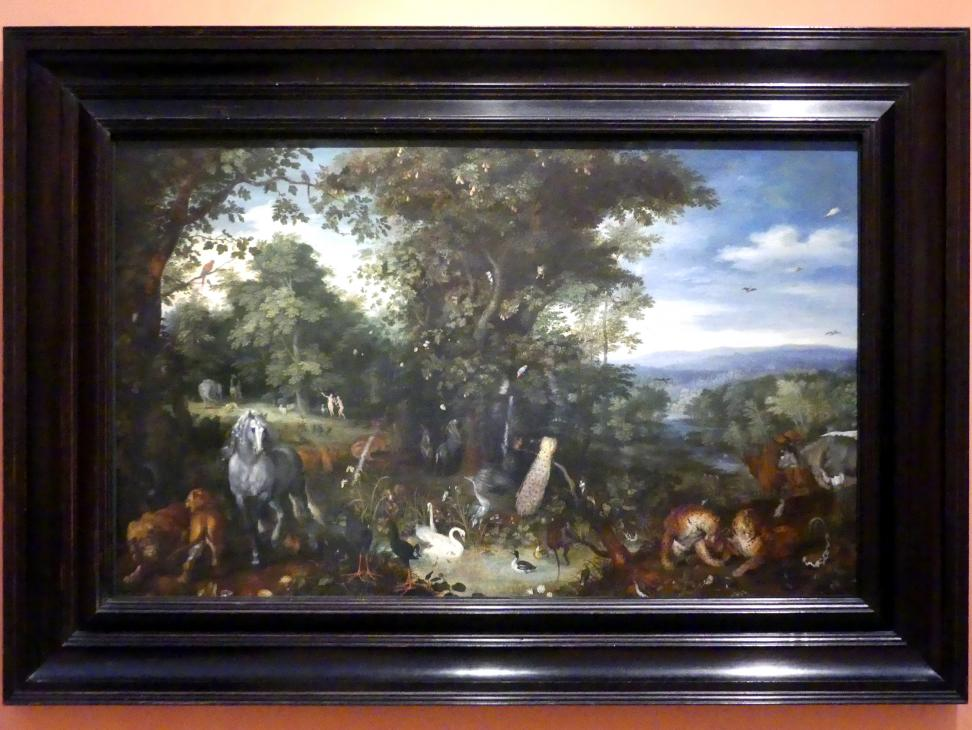 Jan Brueghel der Ältere (Blumenbrueghel): Der Garten Eden, um 1610 - 1612