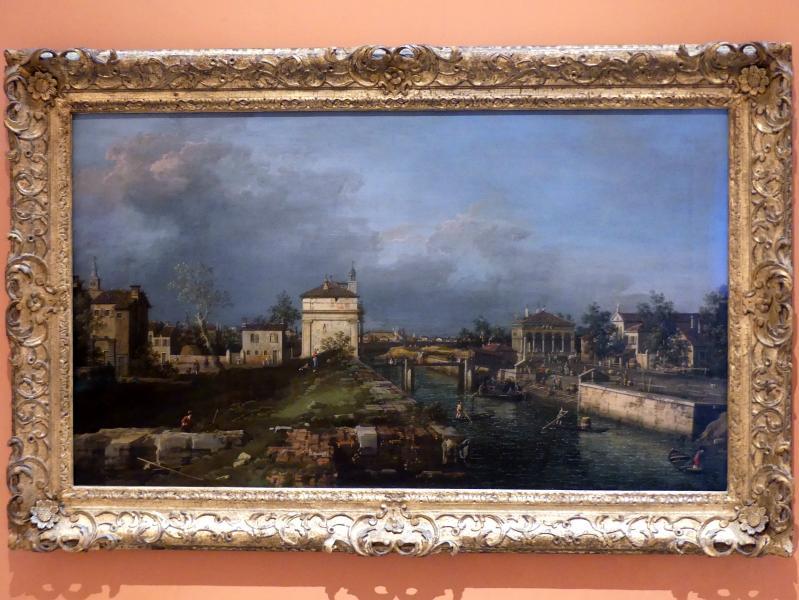 """Giovanni Antonio Canal (""""Canaletto""""): Die Porta Portello in Padua, um 1760"""
