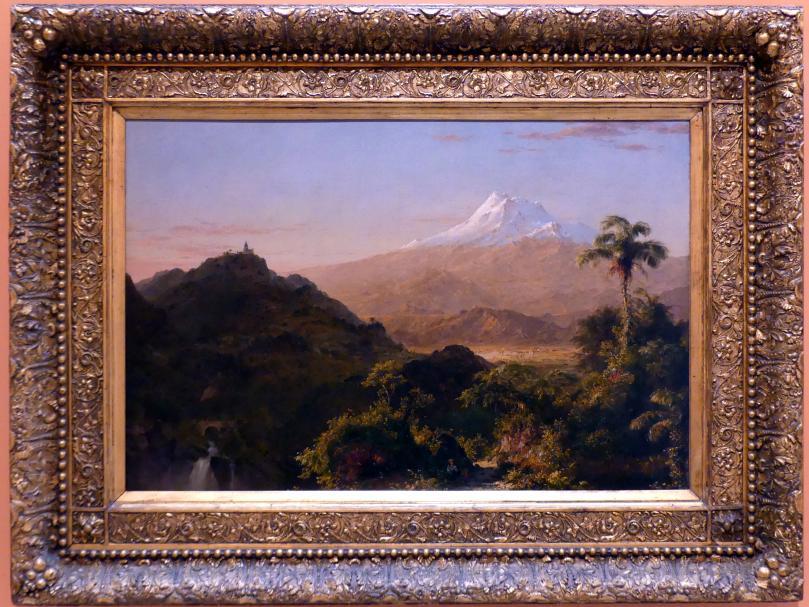 Frederic Edwin Church: Südamerikanische Landschaft, 1856