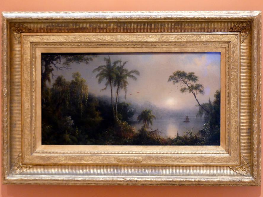 Martin Johnson Heade: Sonnenaufgang in Nicaragua, 1869