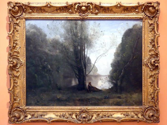 Jean-Baptiste Camille Corot: Die Einsamkeit. Erinnerung an Vigen, Limousin, 1866