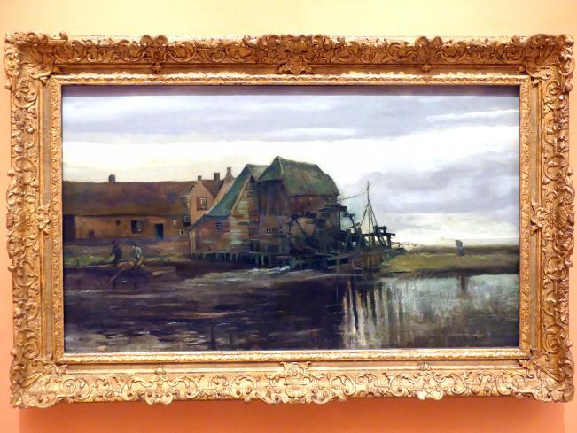 Vincent van Gogh: Wassermühle in Gennep, 1884, Bild 1/4