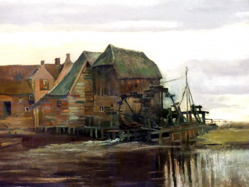 Vincent van Gogh: Wassermühle in Gennep, 1884, Bild 2/4