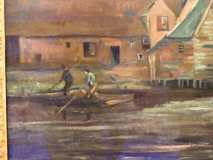 Vincent van Gogh: Wassermühle in Gennep, 1884, Bild 3/4