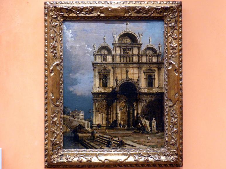 """Giovanni Antonio Canal (""""Canaletto""""): Scuola Grande di San Marco, um 1765"""