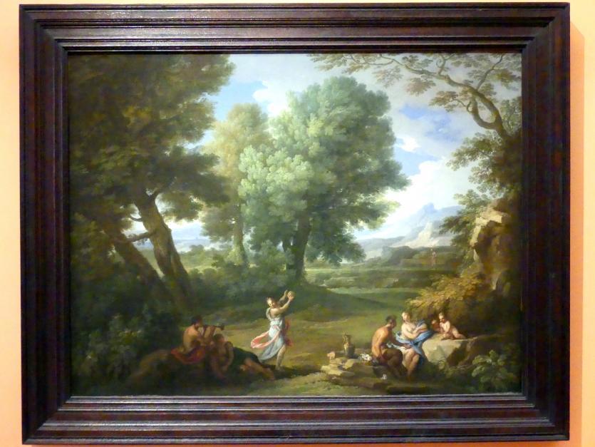 Andrea Locatelli: Landschaft mit Nymphen und Satyrn, Undatiert