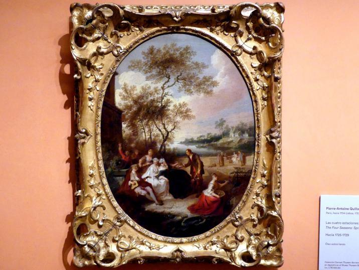 Pierre-Antoine Quillard: Die vier Jahreszeiten: Frühling, um 1725 - 1729