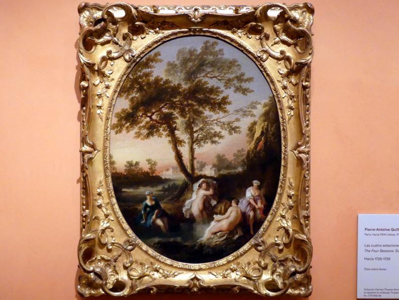 Pierre-Antoine Quillard: Die vier Jahreszeiten: Sommer, um 1725 - 1729