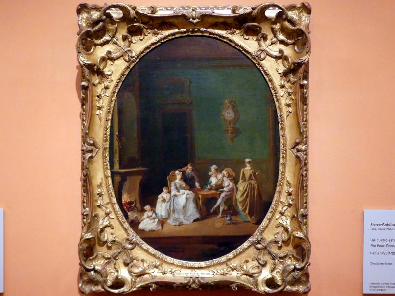 Pierre-Antoine Quillard: Die vier Jahreszeiten: Winter, um 1725 - 1729