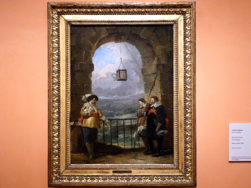 Hubert Robert: Bürgerwache, um 1780 - 1785