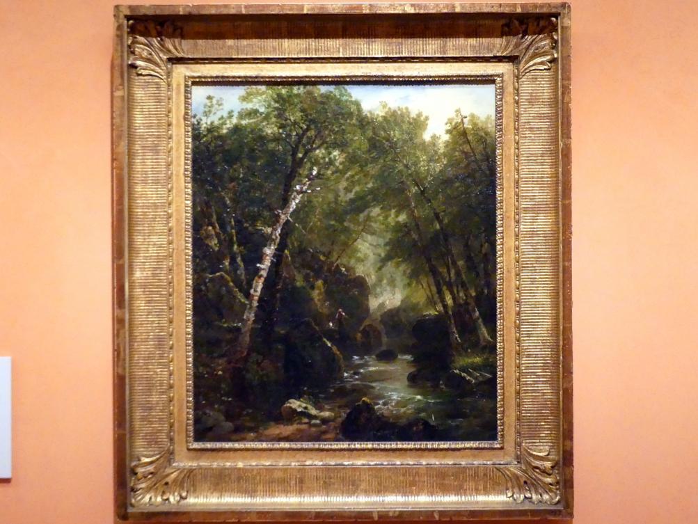 John Frederick Kensett: Forellenfischer, 1852