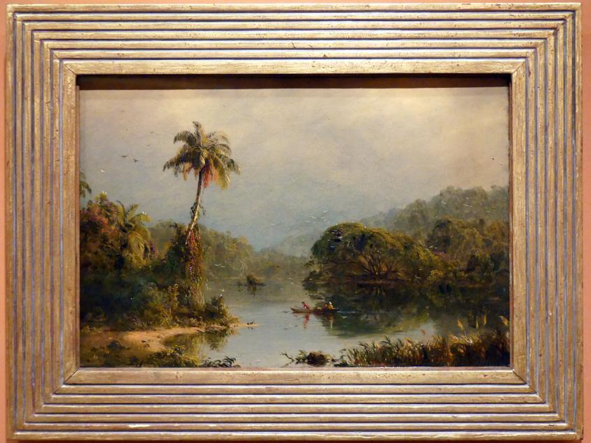 Frederic Edwin Church: Tropische Landschaft, um 1855