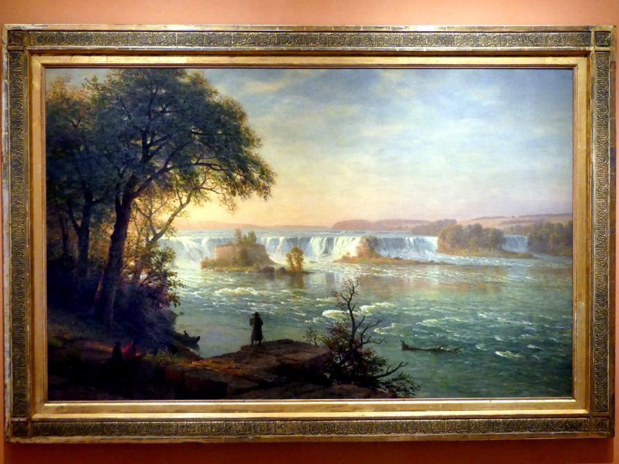 Albert Bierstadt: Die Wasserfälle von San Antonio, um 1880 - 1887