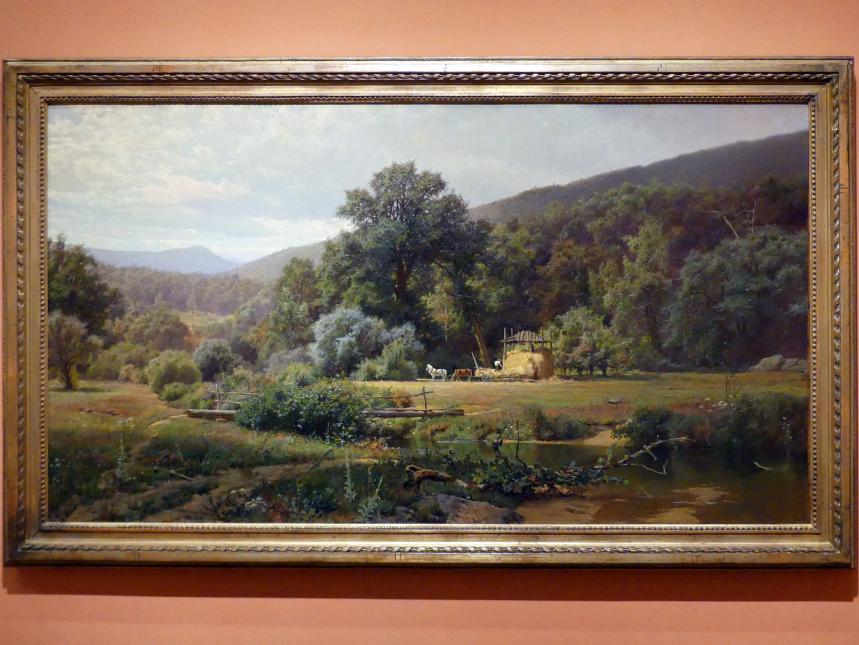 Hugh Bolton Jones: Sommer in den Blue Ridge Mountains, 1874, Bild 1/2