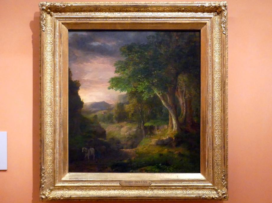 George Inness: In den Berkshire Mountains, Um 1848 - 1850