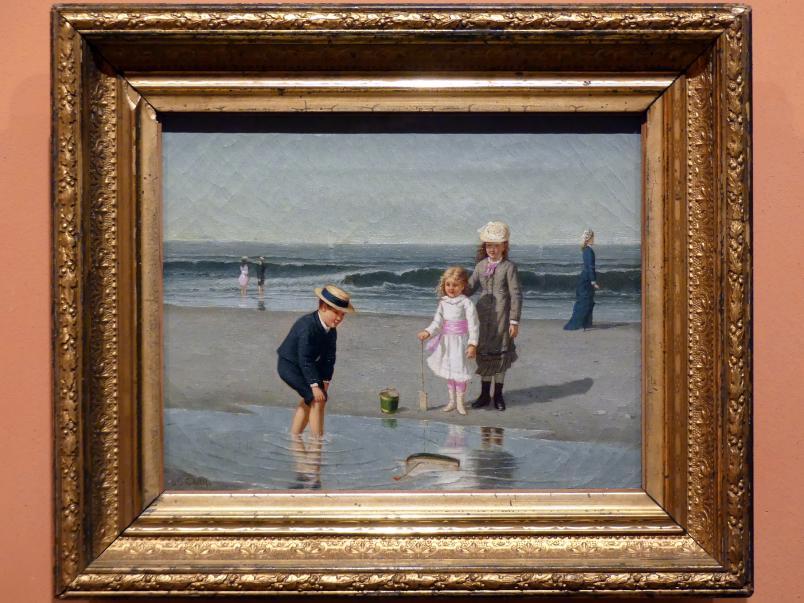 Samuel S. Carr: Kinder am Strand, um 1879 - 1881